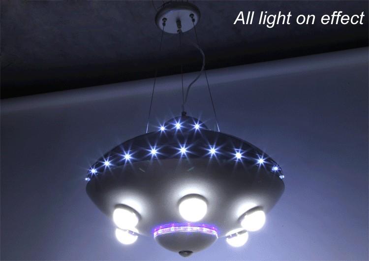 UFO aircraft kronleuchter kinderzimmer lampen schlafzimmer lampen ...