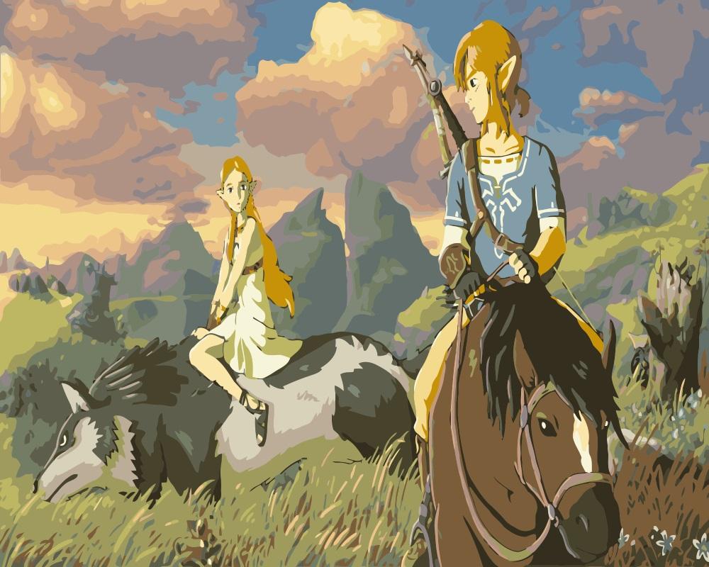 MaHuaf i422 la leyenda de Zelda respiración de la naturaleza DIY ...