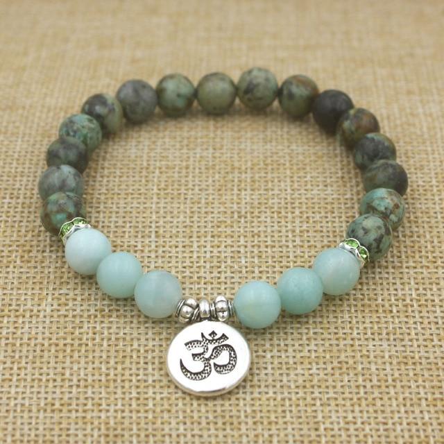 Bracelet Bouddhiste Femme OM
