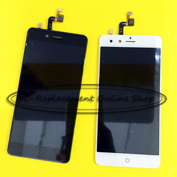 Prix pour Noir/Blanc LCD + TP Pour ZTE Nubia Z11 Mini TD-LTE NX529J LCD Display + Écran Tactile Digitizer Assemblée Remplacement Smartphone