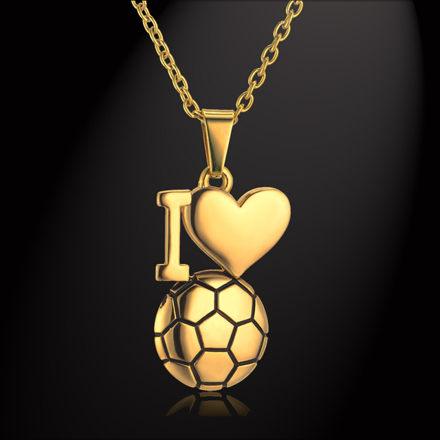 American style football ball pendant necklace for womenmen american style football ball pendant necklace for womenmen jewelry european collares gold color soccer mozeypictures Image collections