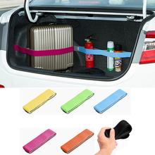 Car Trunk Organizer Car-styling Strap Fasten Bandage Fixed Sundry Stowing Tidying Interior for Toyota Honda VW Ford Audi BMW