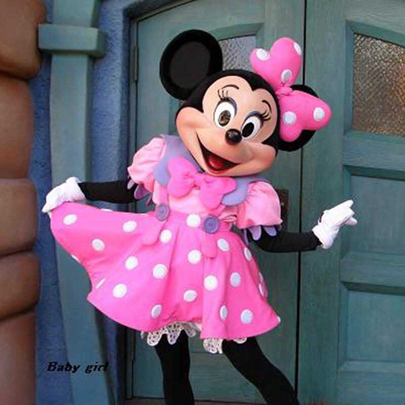 Alta qualidade mouse mascote mouse mascote trajes dos desenhos animados vestuário eva capacete unisex dos desenhos animados vestuário cosplay