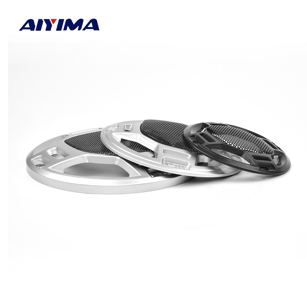 AIYIMA 2Pcs 3/4/5 Inch Audio Portable Speakers Cover Protective Speaker Grill Mesh Repair Parts Accessories DIY Home Theater