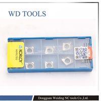 Top qualidade inserir FERRAMENTAS de WD CCGT060202 CCGT060204 CCGT09T304 CCGT9T308 H01 inserções para trabalhar em alumínio|  -
