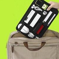 Flexible Digital Products Storage Bag USB Flash Drive HDD Gadgets Travel Organizer Case