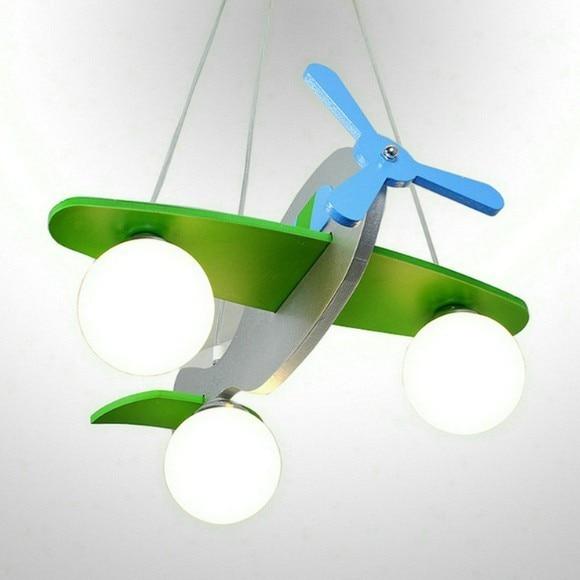 Children S Light Model Plane Gl Lovely Lamps For Rooms Child Ceiling Decoration Lighting Kid Room In Lights From