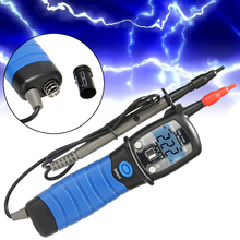 Durable Multifunctional Digital Voltmeter Pen Type Multimeter With LCD Backlight DC/AC Power Voltage Ohm Continuity Tester