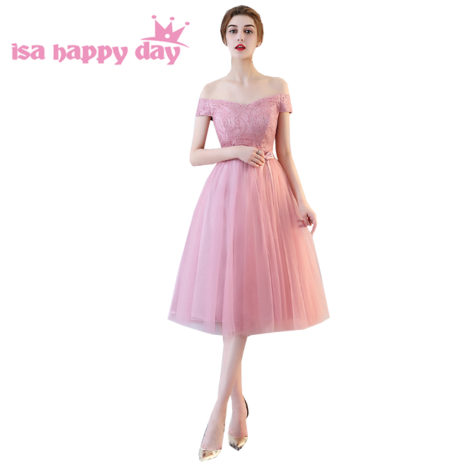 d7fbf44cce Piękne sweet sixteen nastolatek modest dziewczyny blush suknie tanie gorset  tulle puffy tea długość modest śliczne homecoming dress H4148