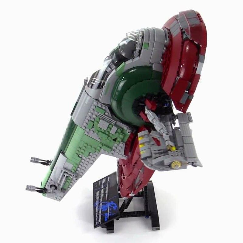 Лепин 05037 2067 шт. Star Wars раб 1 UCS Конструкторы цифры Конструкторы Кирпичи совместимы 75060 корабль DHL