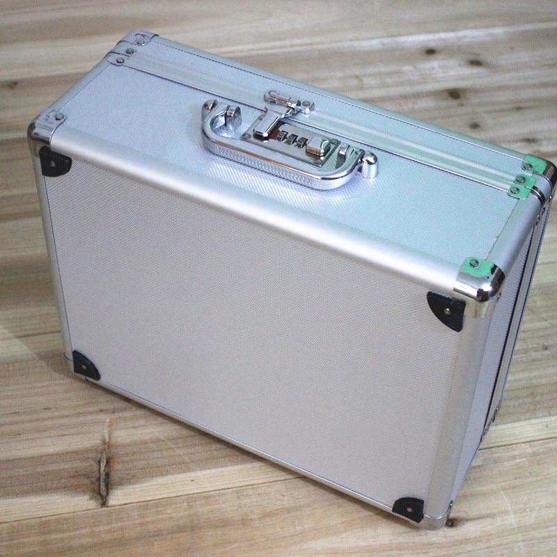 szerszámkészlet alumínium szerszám tok, mágikus kellékek, fájl - Szerszámtárolás - Fénykép 3