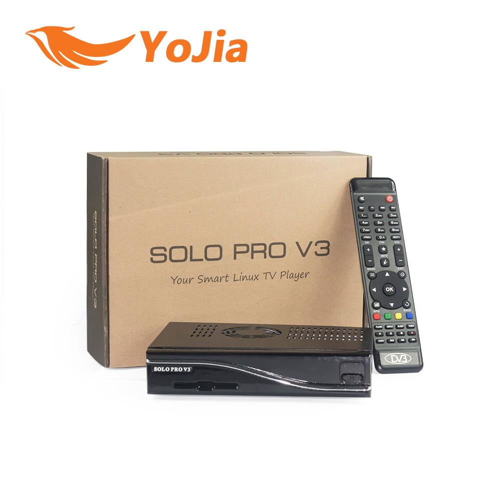 Prix pour DVB-S2 HD Récepteur Satellite SOLO PRO V3 Linux Enigma2 BCM 7358 751 MHz MIPS Numérique Soutien Blackhole Openpli Openvix