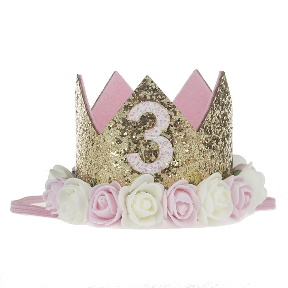 3rd Birthday Crown Third Birthday Girl Gift 3rd Birthday ...