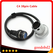 Diagnostic Tool C4 38Pin Cable Car Tools for for Benz MB SD Connect Compact 4 Multiplexer