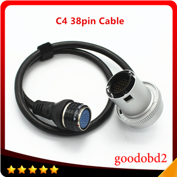 Diagnostic Tool C4 38Pin Cable Car Tools for for Benz MB SD Connect Compact 4 Multiplexer MB Star C4 Car Cable diagnostic tool mb carsoft 7 4 multiplexer ecu chip tunning mcu controlled interface for mercedes benz carsoft v7 4 multiplexer