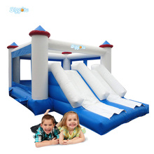 Custom Logo Inflatable Slide Combo with Bouncy Castle for Children