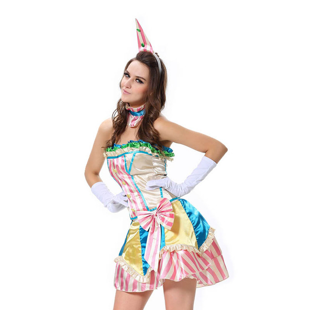 Lover-baby Brand Fever Boutique Vintage Cosplay Clown Costume For Women  sc 1 st  AliExpress.com & Lover baby Brand Fever Boutique Vintage Cosplay Clown Costume For ...