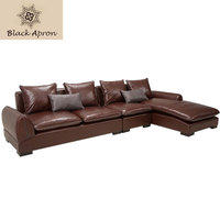 TOIN Sofa Leather Moveis Furniture Couch Modern Modernos Para Real Casa Sala Couches Recliner Sets Genuine Corner Sofas M2269
