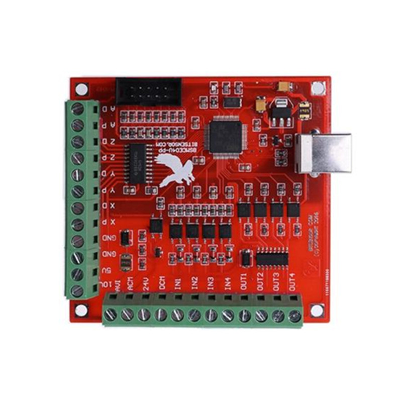 4 Axis Interface Driver Motion Controller for Mach 3 cnc router machine richauto a18 dsp 4 axis linkage motion control system for cnc router machine