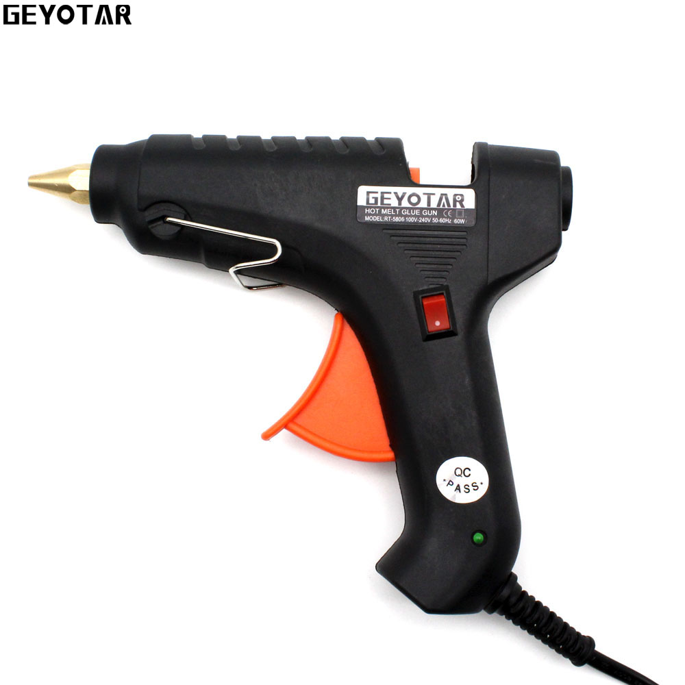 2017 New Sale Heat Gun 60w 110v 220v Professional Hot Melt Glue Gun Heating Craft Repair