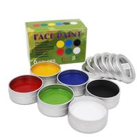 IMAGIC Body Painting Halloween 6 Colors Set Party Fancy Dress Tools Flash Temporary Face Body Paint