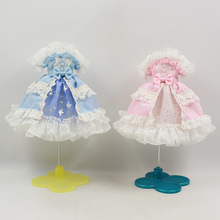 Outfits Sweet-Dress Blyth-Doll-On Princess Body-Suit The-Joint DBS for Piece BJD 1/6