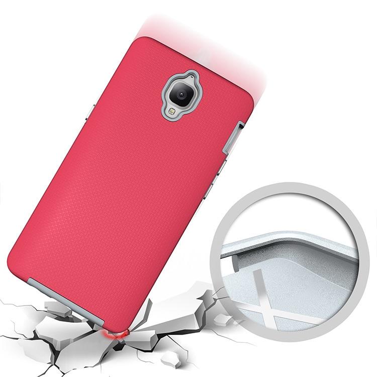 OCHGEP För OnePlus 3-fodral 5.5-tums TPU + PC Anti-Knock Plastic - Reservdelar och tillbehör för mobiltelefoner - Foto 4