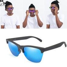 DesolDelos Semi-rimless Polarized Sunglasses Men Classic Mirror Sun Glasses for Driving Women Sport Eyewear Oculos De Sol UV400 цена и фото