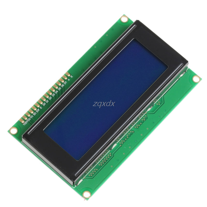 5V 2004A 2004 LCD Display Module 20x4 Display Character Blue Screen Drop Ship