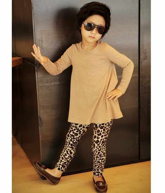 fc4be46cbf8d3d Detail Feedback Questions about Girls Leggings Baby Pants Stretch Full Long  Length Leopard Animal Print Leggings Girls Kids Pants H3 on Aliexpress.com  ...