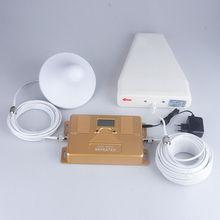 2 г 3 г 4 г репитер Dual Band 1800/2100 мГц сотовом телефоне усилитель сигнала с ЖК-дисплей экран