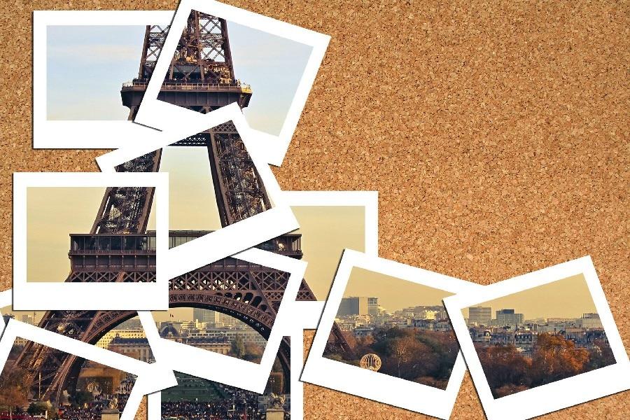 Jim Acrylique-cadre 13x18 cm paysage plié