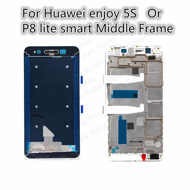 For Huawei enjoy 5s or For huawei P8 lite smart Middle Frame Bezel ...