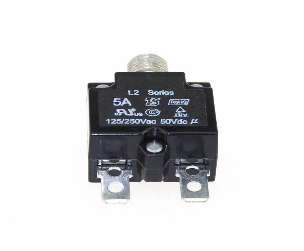 Iztoss 20 Amp Circuit Breakers With Manual Reset Dc50v Ac125 250v Details About Push Button 5 Breaker For 12 24 50 Volts Dc Quick Connect Terminals