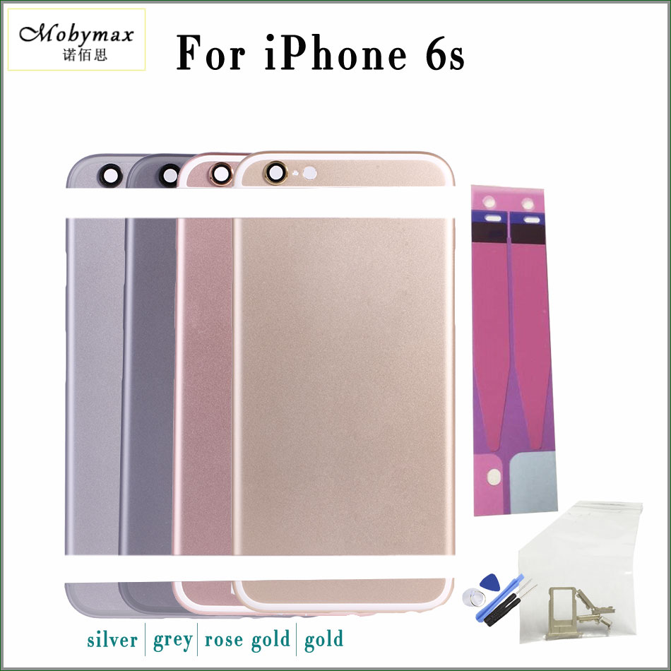 Battery-Cover Sticker--Tool IMEI iPhone 6s Chassis Back-Housing for A1688/A1633/A1700
