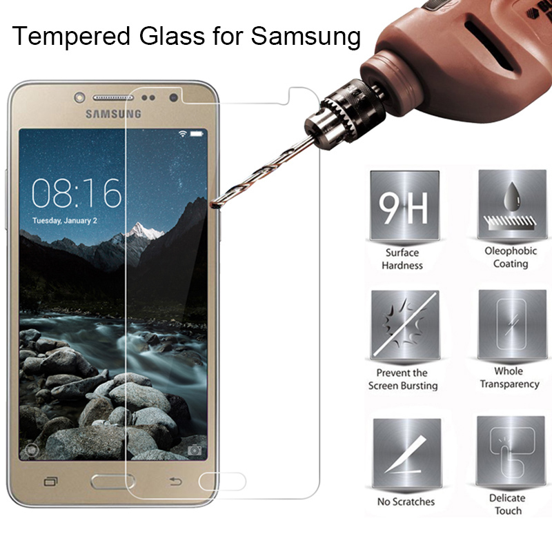 Phone Screen Protector For Samsung Galaxy J7 2017 J730 Hard Tempered Glass On J3 Pro Protective Glass For Samsung J5 2016 J510