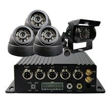 GPS Automobile Dvr For Bus Truck 4CH Realtime 3G Automobile Cell Dvr MDVR Distant Monitor CCTV Safety Video Recorder SONY 600TVL Digicam