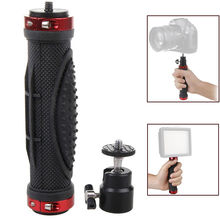 1/4″ Screw Handheld Holder Grip Stand Stabilizer for Sony Canon Nikon DSLR Camera Gopro Video LED