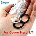 New Дело Водонепроницаемый Корпус Стекло Крышка Объектива Запасной Комплект для Gopro Hero 2 1 GP34 Бесплатную доставку