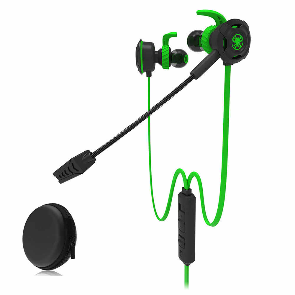 Gaming Headset  Game Earphone Computer headphones with microphone  In Ear Bass Noise Cancelling For PLEXTONE G30 PC Gaming