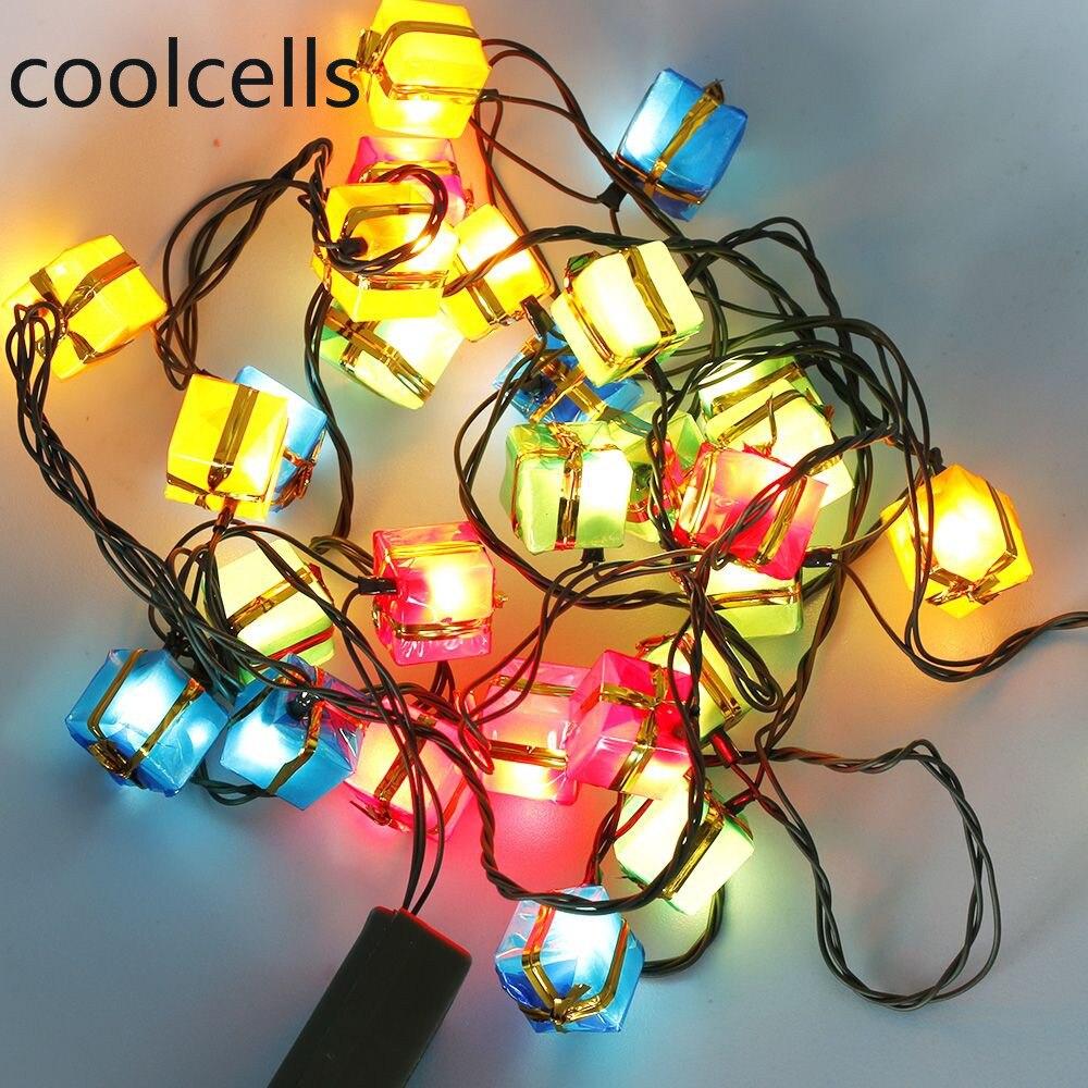 3M 28LED Christmas Party String Lights Xmas Decor EU Plug Warm White Helpful
