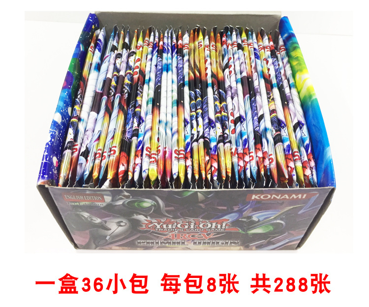 288card/1box All Collection box package Yu-Gi-Oh paper card table game play magic card toy English Version Yugioh game play card image