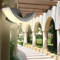 lyfs outdoor balcony stairs Engineering villa wall light of corridor light Waterproof wall lamp arc style