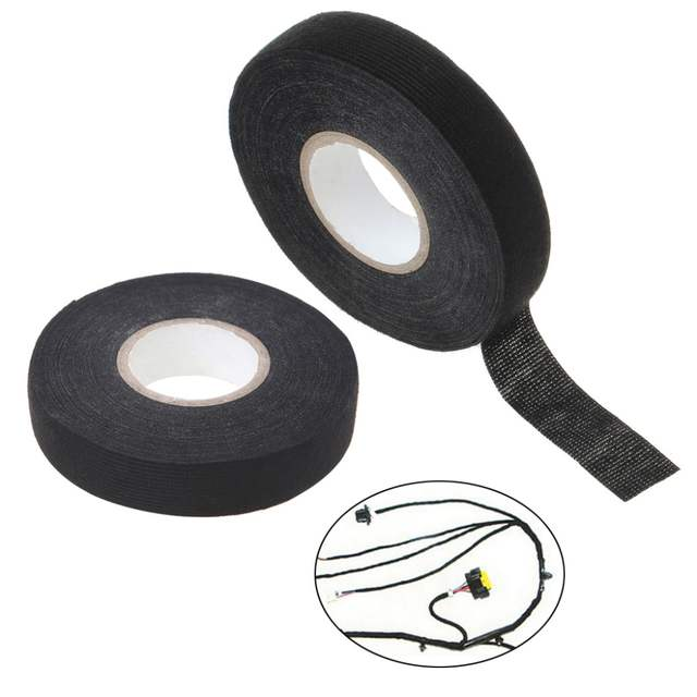 Online Shop 19mm Car Auto Wiring Harness Tape Adhesive Cable