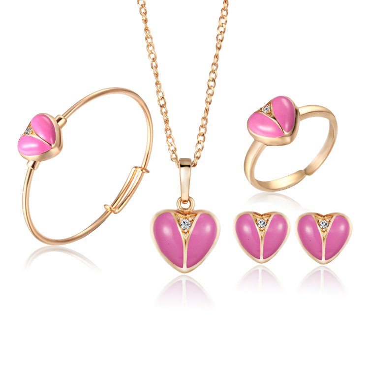aliexpress buy baby jewelry sets gold plated