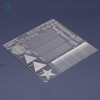 Стальные канавки, цифровая камуфляжная Тонкая леска, треугольная шестиугольная изоляционная лента, разделочные прокладки с двух сторон 15 с...