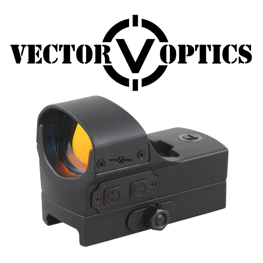 Vector Optics Compact 1x22x33 Red Dot Sight Scope with Motion Sensor Function 20mm Weaver Base fit Night Vision Free Shipping vector optics sphinx 1x22 mini reflex compact green dot sight scope very light with 20mm weaver mount base