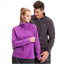 Tectop Outdoor Camping Hiking Woman Fleece Jacket Windproof Thermal Antistatic 100% Polyester Jaquetas Sportswear