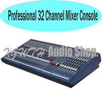 32 Channel Karaoke Audio DJ Mixer Professional Sound Mixing Console with + 48V Phantom Power