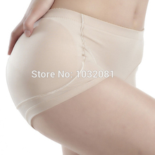 M – 4XL Women low rise booty Butt Enhancer padded hip and buttock hip booster boxer boyshort padded panty fake ass underwear P03